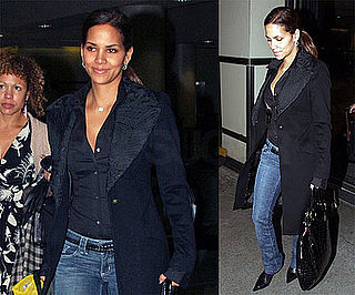 Photos of Halle Berry at LAX