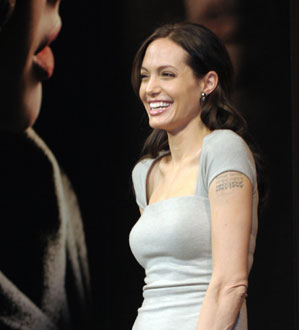 Photos of Angelina Jolie Promoting Changeling in Tokyo