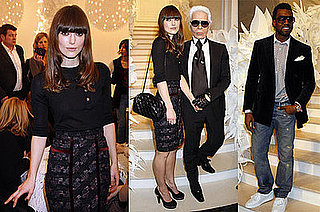Photos of Keira Knightley, Kanye West, Karl Lagerfeld at the 2009 Paris Spring Couture Shows