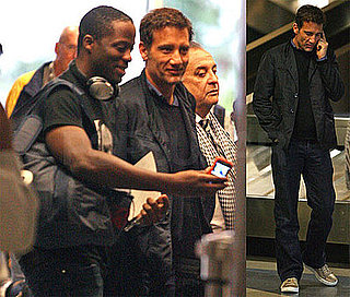 Photos of Clive Owen Looking Good at LAX
