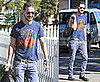 Photos of Shia LaBeouf Wearing Sunglasses in LA
