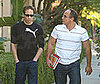 Photo of David Duchovny Out in LA with a Friend