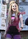 Avril Lavigne Loves Chocolates