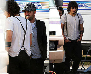 Photos of Orlando Bloom and Mark Ruffalo on the Set of Sympathy For Delicious