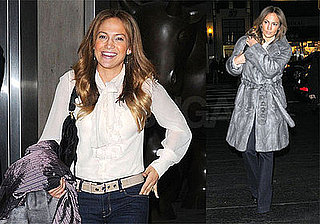 Photos of Jennifer Lopez at Dinner in NYC