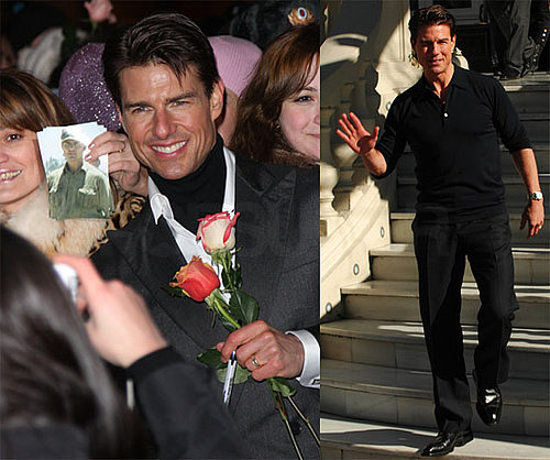 Photos of Tom Cruise at Valkyrie Moscow Premiere and Photo Call in Madrid
