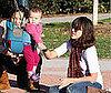 Photo of Jessica Alba Playing in a LA Park with Her Daughter Honor Warren