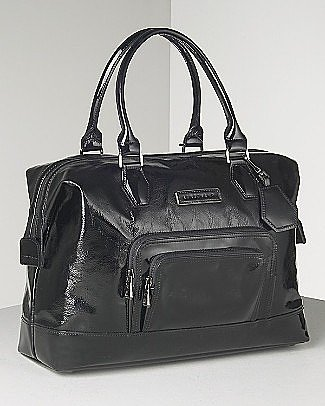 "Longchamp ""Legende Vernis"" Patent Leather Satchel"