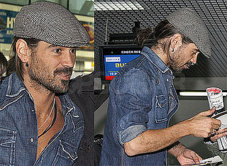 Colin Farrell Signs Autographs at the Sarajevo Airport