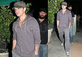 Ryan Phillippe Eats at Dan Tana's in LA