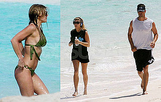 Jogging With Josh Keeps Fergie's Bikini Body in Perfect Shape