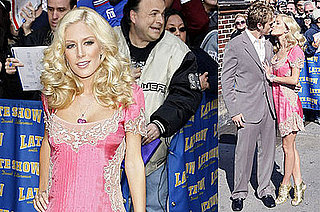 Heidi Montag Keeps It Real — Ha! — on Letterman