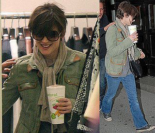 Winona Ryder's Smoothie Sailing