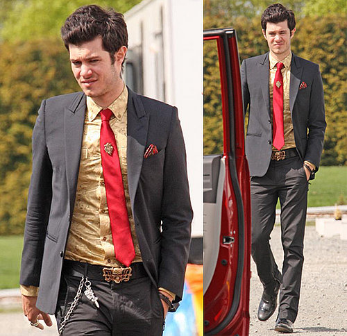 Adam Brody on the Set of Jennifer's Body
