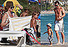 Photos of Kingston, Gwen Stefani, Gavin Rossdale on the Beach