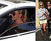 Britney Spears Rear Ends A Car