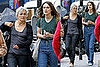 The Edge of Love's Keira Knightley in Paris with her Mom and Rupert Friend