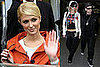 Paris Hilton And Benji Madden At Heathrow Airport