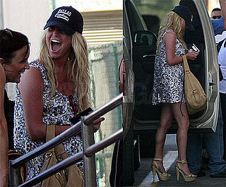 Jessica Simpson Leaves Cabo San Lucas Wearing a Dallas Cowboys Cap