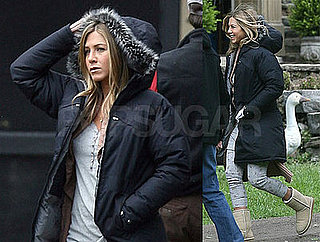 Photos of Jennifer Aniston on Marley and Me Set in Philadelphia