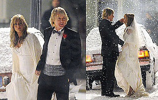 Photos of Jennifer Aniston and Owen Wilson Getting Married on the Set of Marley and Me