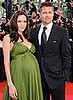Angelina and Brad Have Twin Girls