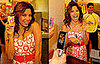 Photos of Eva Longoria Working at Wendy's