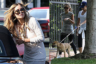 Lauren Conrad Out In LA With Chloe and Lo