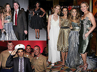 Sarah Jessica Parker and Stars Party at Sex and the City: The Movie After-Party in NYC