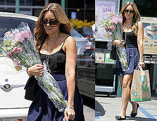Photos of Lauren Conrad Buying Flowers at Whole Foods