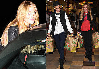 Lindsay Lohan and Samantha Ronson Go Grocery Shopping