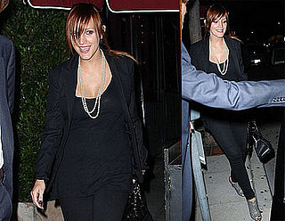 Photos of Pregnant Ashlee Simpson in LA 2008-06-05 15:00:37