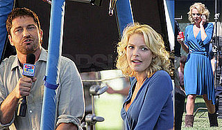 Katherine Heigl and Gerard Butler On the Set of The Ugly Truth