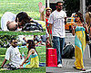 Photos of Eva Longoria and Tony Parker Kissing in Central Park