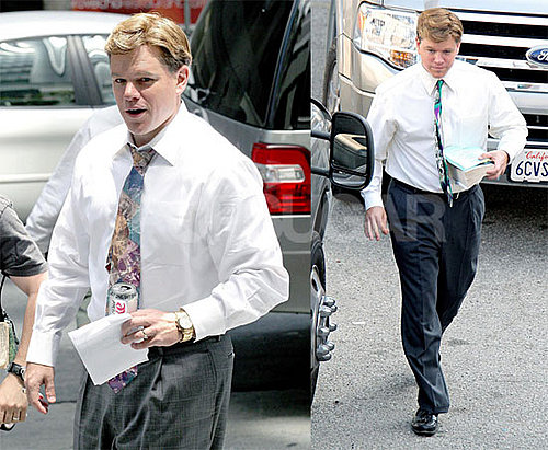 Matt Damon Is Fat But Still Powerful