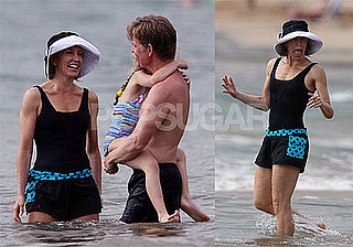 Felicity Huffman and William H. Macy Enjoy Family Time in Maui
