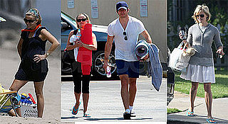 Photos of Reese Witherspoon with Jake Gyllenhaal and On Beach With Deacon