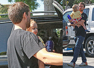 Tobey Maguire Goes to Lunch With Wife Jennifer Meyer and Daughter Ruby Sweetheart