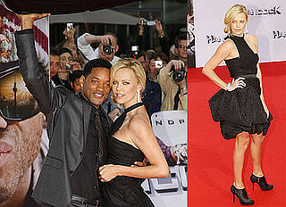 Will Smith, Charlize Theron, Jason Bateman at the Berlin Premiere of Hancock