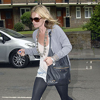 Kate Moss Returns Home