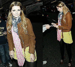 Mischa Barton at Harvey Nichols in London