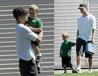 Photos of Celebrity Baby Deacon Phillippe with Ryan Phillippe in LA
