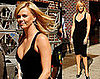 Photos of Charlize Theron on Her Way to the Late Show