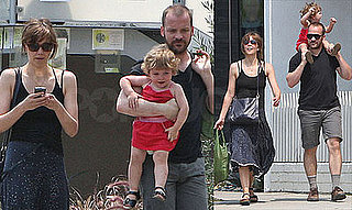 Photos of Maggie Gyllenhaal and Peter Sarsgaard with Ramona