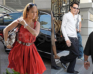 Photos of Jennifer Lopez and Marc Anthony in Spain