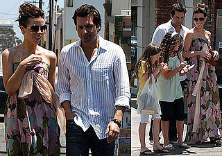 Photos of Kate Beckinsale and Len Wiseman in LA 2008-07-01 14:00:00