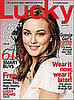 Leighton Meester On Lucky Magazine August 2008