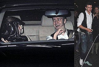 Justin Timberlake and Girlfriend Jessica Biel Leaving Cut in LA