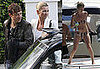 Photos of Kate Moss in a Bikini in Ibiza, Shooting New Rimmel ad with Jamie Hince