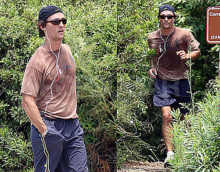 Matthew Takes a Daddy Break to Take a Jog